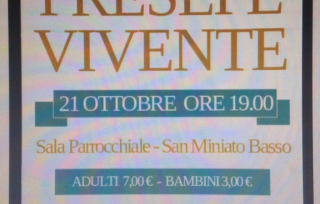 Apericena Presepe Vivente a San Miniato Basso 21-10-2017
