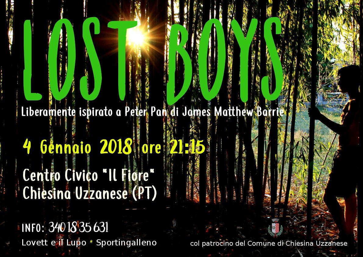 Lost Boys – Spettacolo del Circolo Parrocchiale Sportingalleno