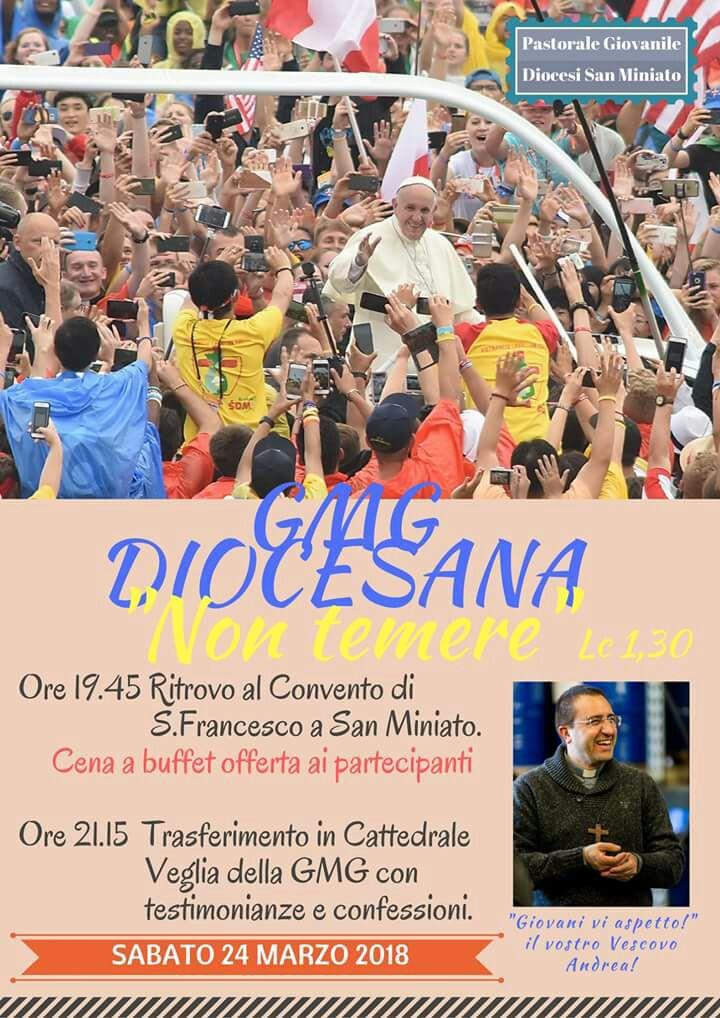 GMG Diocesana a San Miniato – Sabato 24 Marzo 2018